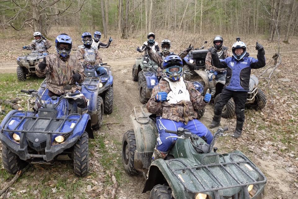 Yamaha Riding Adventures team ATV