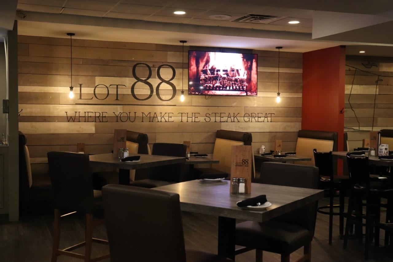 Interior of Lot 88 Restaurant in Orillia