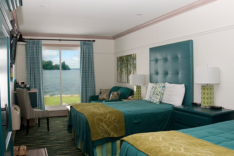 Fern Resort room overlooking lake hotels in orillia