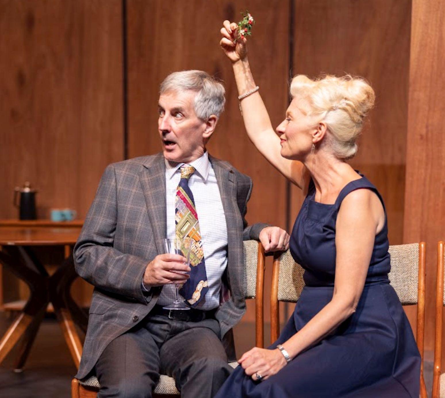 Old Love actors omn stage in Orillia